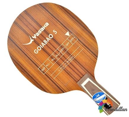 亚萨卡GOIABAO5乒乓底板怎么样
