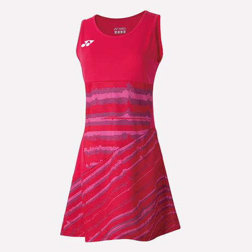 尤尼克斯20348女款羽毛球运动连衣裙