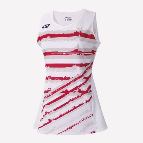 尤尼克斯20350Y女款羽毛球运动背心