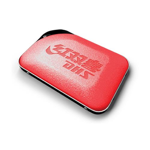红双喜RC302红色皮质乒乓球拍套