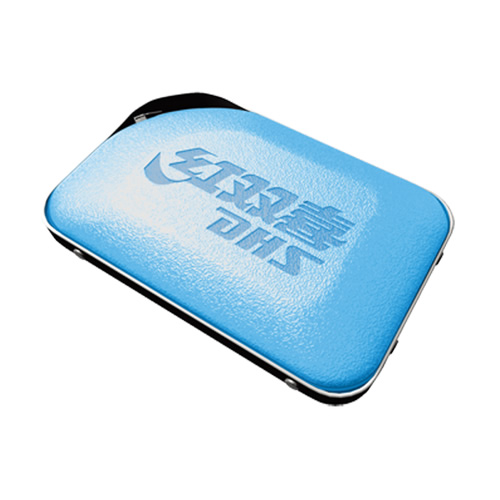 红双喜RC303蓝色皮质乒乓球拍套