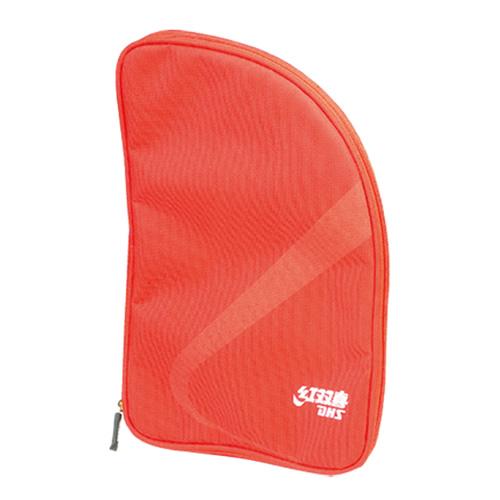 红双喜RC103红色牛津扇形乒乓球单拍套