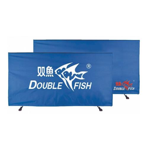 双鱼乒乓球蓝色布套挡板