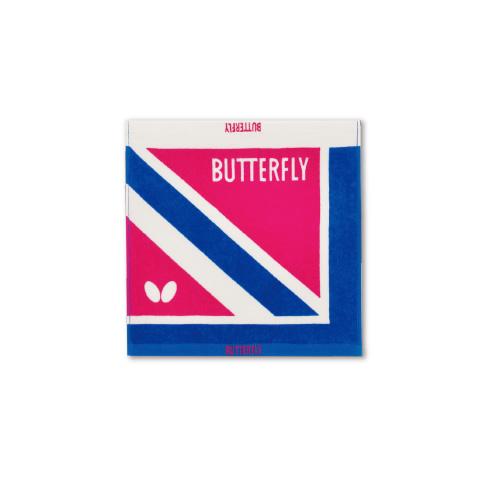 蝴蝶WTT-9100乒乓球运动毛巾