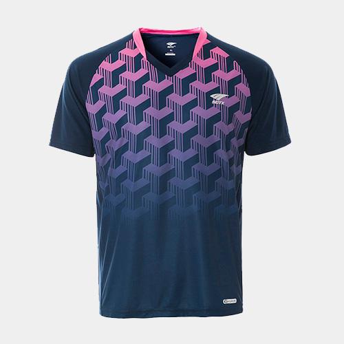 索牌17BM6033男式羽毛球短袖T恤