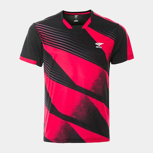 索牌17BM6027男式羽毛球短袖T恤