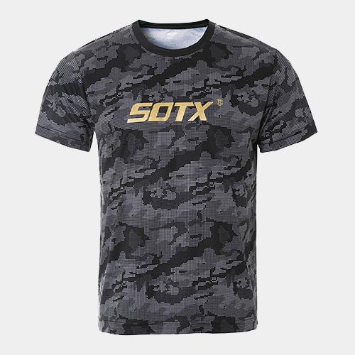 索牌17BM6017男式羽毛球短袖T恤