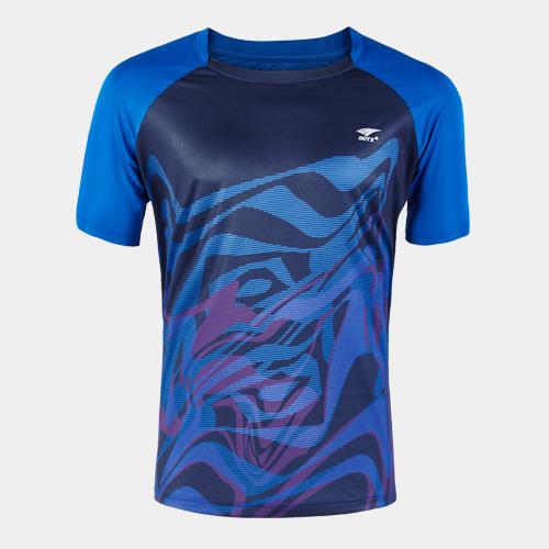 索牌17AM6083男式羽毛球T恤