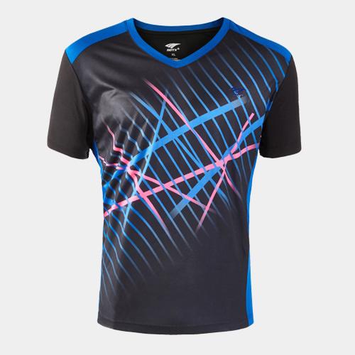 索牌17AM6047男式羽毛球T恤