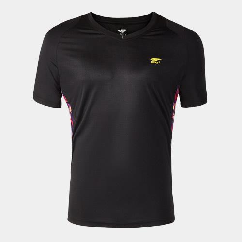 索牌17AM6037男式羽毛球T恤