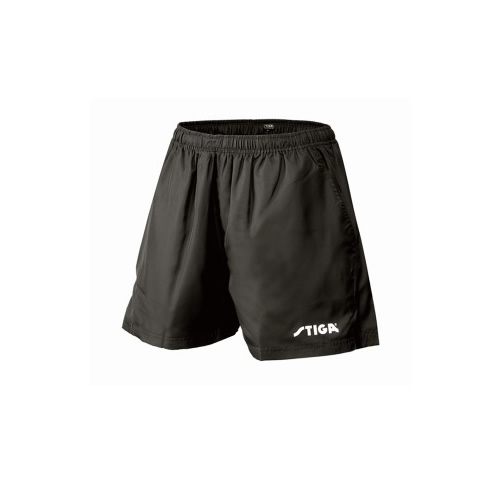 斯蒂卡黑色乒乓球比赛短裤