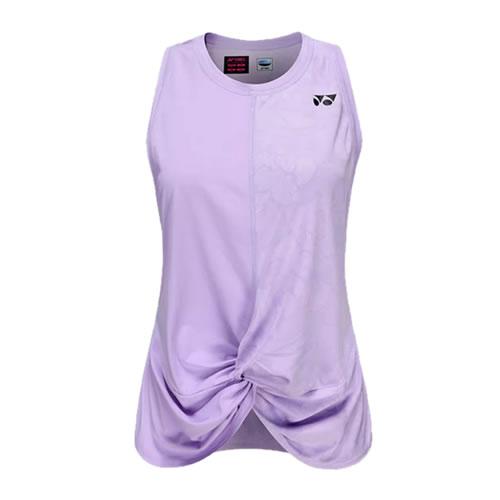 尤尼克斯20318EX女式网球运动背心图1高清图片