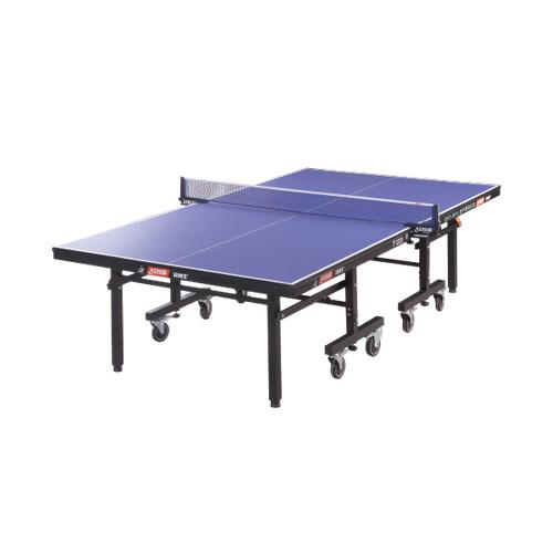 红双喜T1223高级单折移动式乒乓球桌