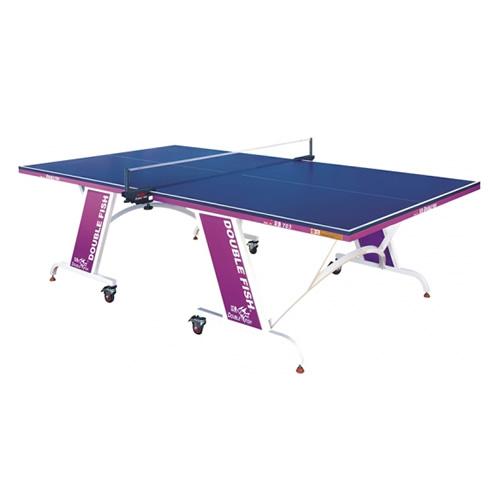 双鱼703单折半移动式乒乓球桌
