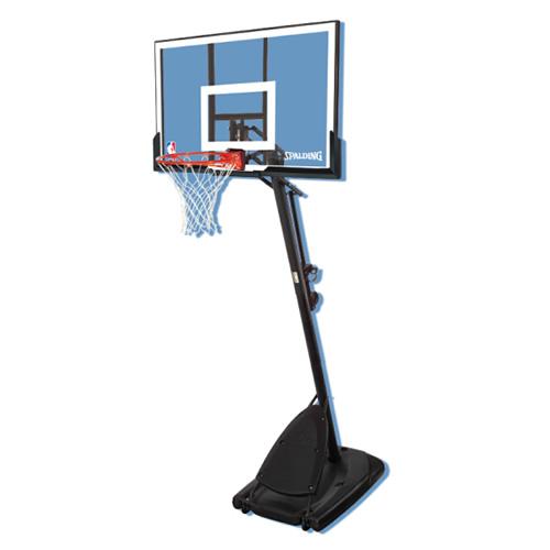 斯伯丁66291便携式54英寸篮球架