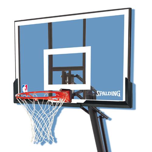 斯伯丁便携式54英寸篮球架图2高清图片