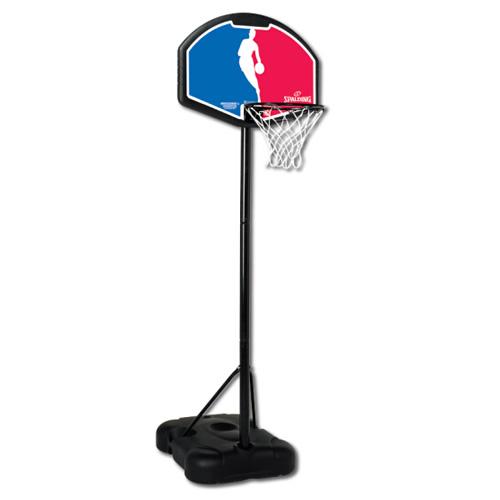 斯伯丁58651便携式32英寸扇形儿童篮球架