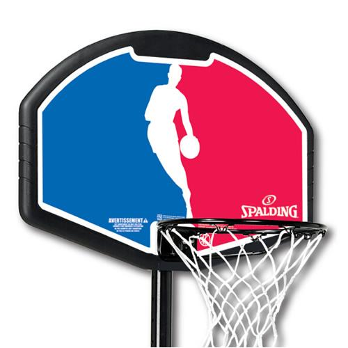 斯伯丁便携式32英寸扇形儿童篮球架图2高清图片