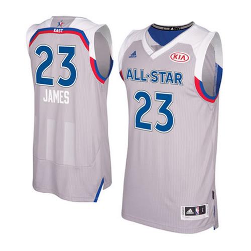 阿迪达斯全明星詹姆斯Swingman篮球服图2高清图片