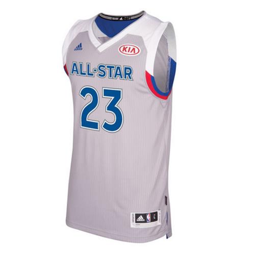 阿迪达斯全明星詹姆斯Swingman篮球服图1高清图片
