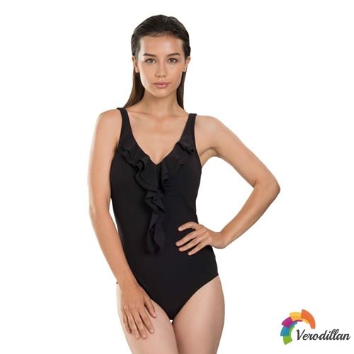 速比涛Sculpture纤姿系列女子连体泳衣图3高清图片