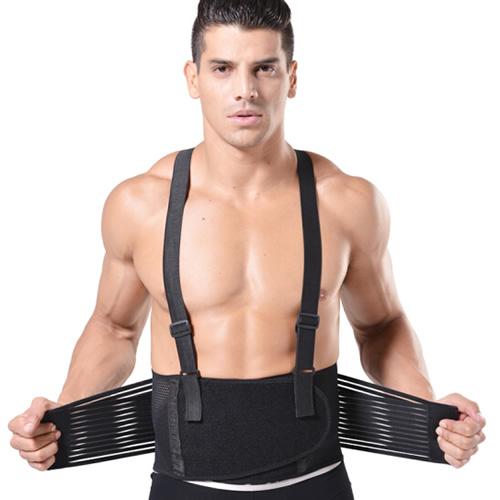 劳拉之星LS0805双肩带可调松紧护腰