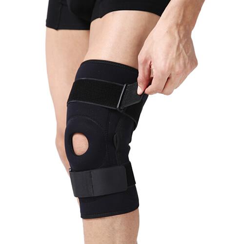 劳拉之星LS0302双枢纽钢片护膝