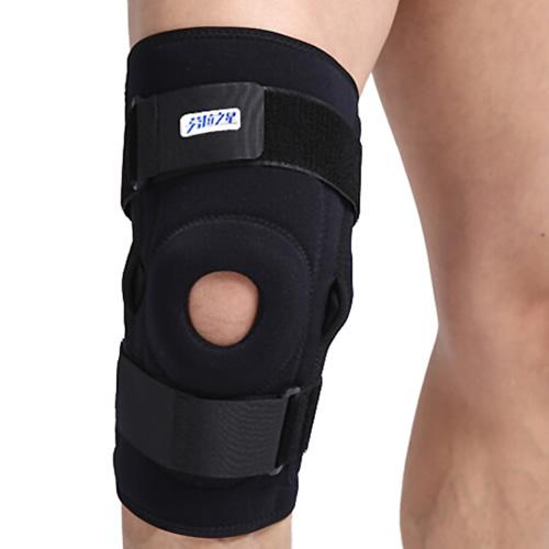 劳拉之星LS0302双枢纽钢片护膝图1高清图片