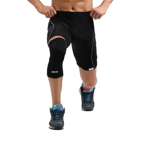 劳拉之星LS0309超薄篮球护膝图2高清图片