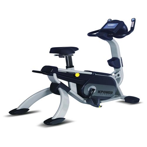 康乐佳K9002W商用立式健身车