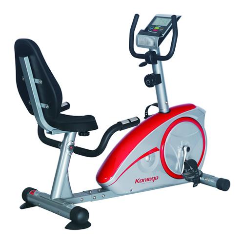 康乐佳K8601R家用卧式健身车