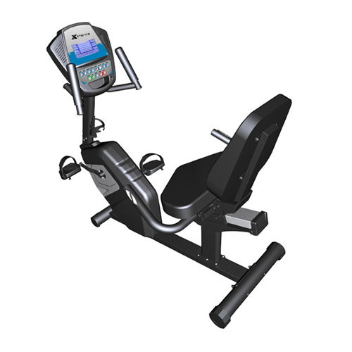 司特拉FS4.0R电磁控卧式健身车