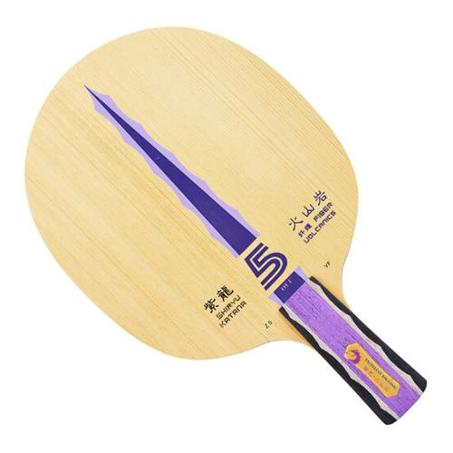 银河紫龙火山岩VF-5乒乓球底板