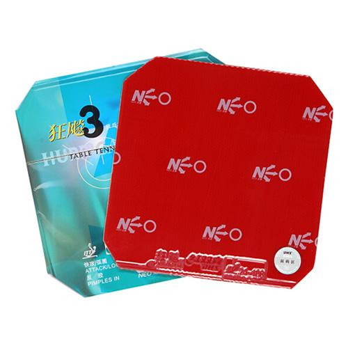红双喜NEO狂飚3乒乓球套胶图1高清图片