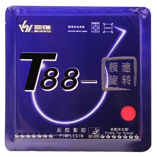 三维T88-极速旋转乒乓球套胶
