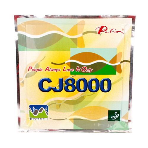 拍里奥长效CJ8000乒乓球套胶