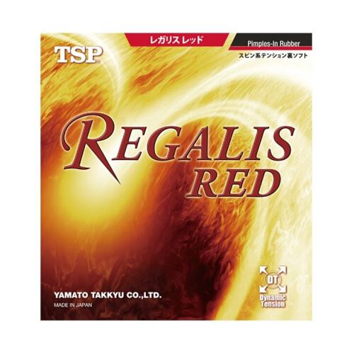 TSP大和Regalis Red乒乓球套胶