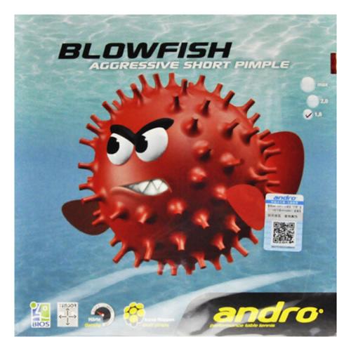 岸度BLOWFISH汽泡鱼乒乓球套胶