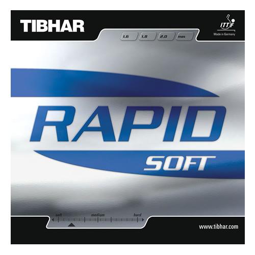 挺拔RAPID SOFT(雷劈易控型)乒乓球套胶