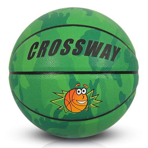克洛斯威594儿童迷彩5号篮球
