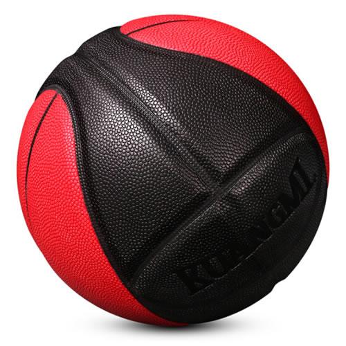 狂迷KMB101黑红脸谱7号篮球