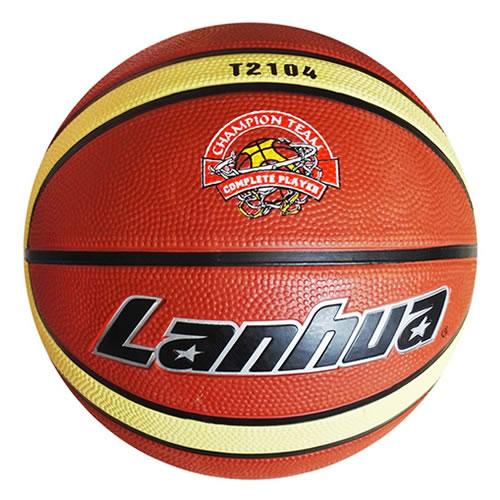 兰华T2104橡胶5号篮球