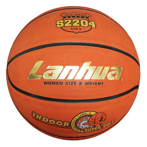兰华S2204橡胶6号篮球