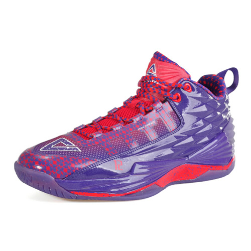 匹克E62063A五彩凤凰篮球鞋