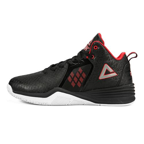 匹克DA740101时尚压纹印花篮球鞋