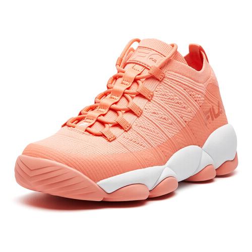 斐乐T12W821201F透气女式篮球鞋