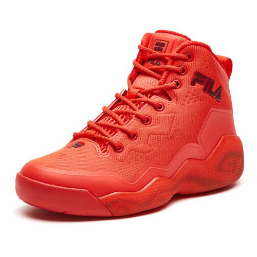 斐乐F12M811204F高帮女式篮球鞋