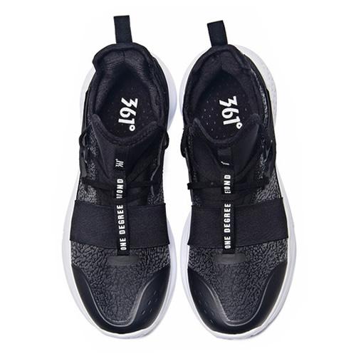 361度571811107梭织绑带篮球鞋图1