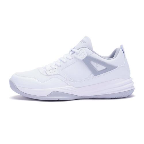 特步983419129298系带耐磨篮球鞋