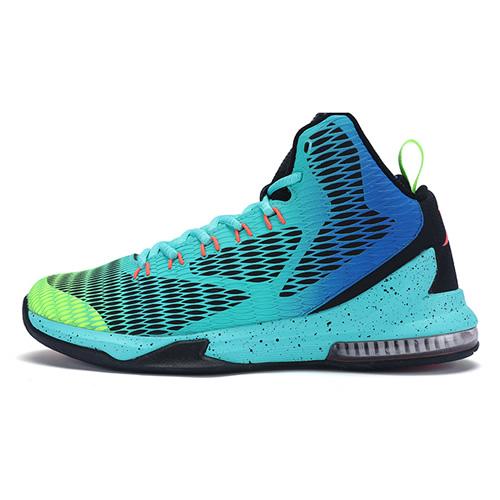 特步983419121072时尚撞色篮球鞋